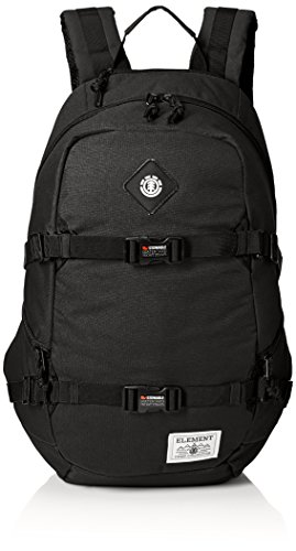 Element Young Men's Jaywalker Skate Backpack With Straps and Laptop Sleeve Accessory, -JAYWALKER FLINT BLACK L, ONE