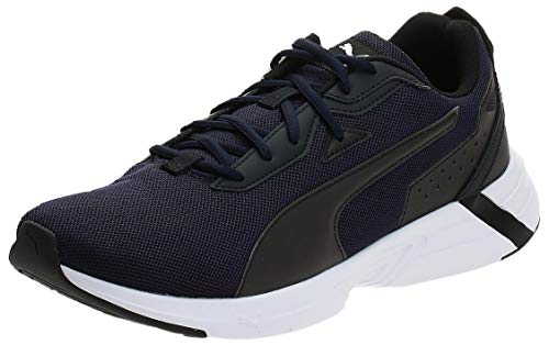 PUMA SPACE RUNNER, Men's Fitness & Cross Training Shoes, Blue (Peacoat/Black/White 03), 46 EU