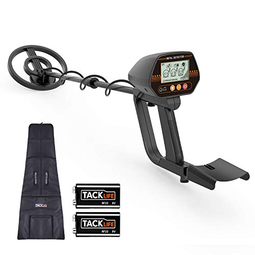 Discovery 3300 Metal Detector - Metal Detector, 3 Modes Waterproof Metal Detector with Larger Back-lit LCD Display and Distinctive Audio Prompt & DISC Mode - Carrying Bag & Batteries Included - Easy to Operate for Adults & Kids