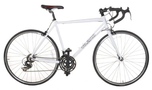 Vilano Aluminum Road Bike 21 Speed Shimano, White, 58cm Large For Sale
