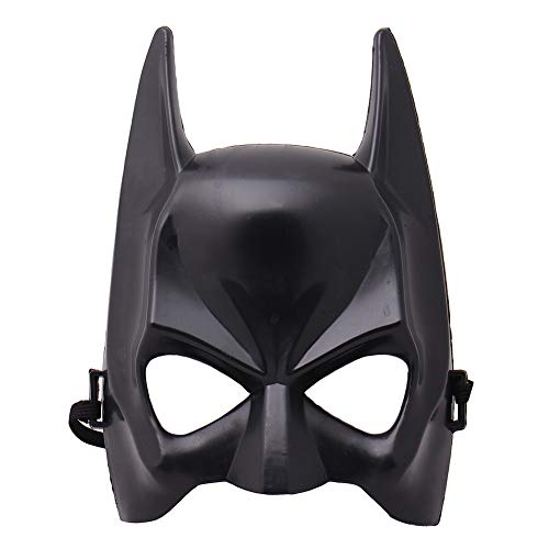 1Pcs Halloween Half Face Batman Mask Black Masquerade Dressing Party Masks Cosplay Mask Costume Party Festival Supplies NEW black -