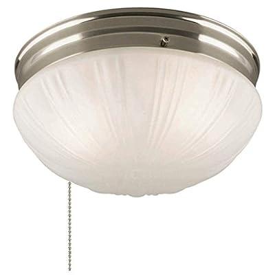 Westinghouse 67210 - 2 Light Brushed Nickel Ceiling Light Fixture