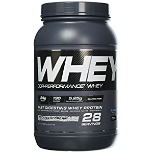 Cellucor Cor Performance Whey Protein Powder, Whey Protein Isolate, BCAA, Cookies N Cream, 28 Servings