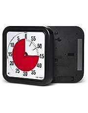Time Timer Magnetische 60 minuten timer met optisch signaal, afteller-horloge voor kinderen en volwassenen, voor het klaslokaal of vergaderruimtes (large - 30 cm)
