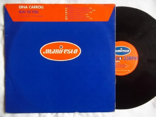Dina Carroll Run To You 2X 12  Vinyl
