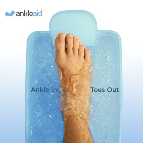 AnkleAid Foot, Ankle, Achilles, Plantar Fasciitis and Elbow Healing Device from AnkleAid