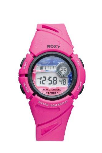 Roxy W001DR 76T - Reloj digital de mujer de cuarzo con correa de plástico rosa (