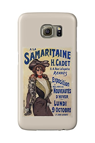 a-la-samaritaine-vintage-poster-france-galaxy-s6-cell-phone-case-slim-barely-there