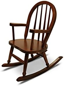 Weaver Craft Child s Rocking Chair Amish Made Brown Cherry – Fully Assembled