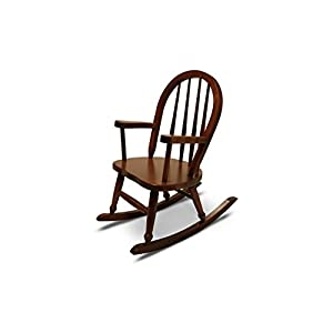 Weaver Craft Child's Rocking Chair Amish Made (Brown Cherry) – Fully Assembled