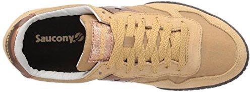 Saucony Originelen Vrouwen Bullet Sneaker Tan / Rose Goud