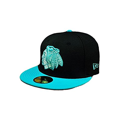 New Chicago Blackhawks Nhl Cap - New Era Men's 59fifty Nhl Cap Chicago Blackhawks 2 Tone Size 7 1/4