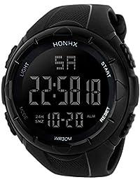 Waterproof Wrist Watch,Yezike Luxury Men Analog Digital Military Army Sport LED Waterproof Wrist Watch