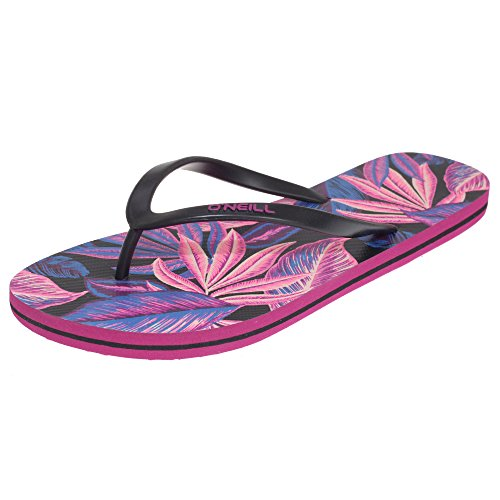 Flops Ladies O'Neill Oneill Multicoloured Black Tropadelic Flip Womens Print 7wOROxqCSY
