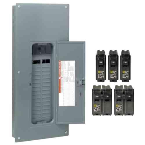 41KP6YSqJbL circuit breaker panels amazon com electrical breakers, load square d load center wiring diagram at bakdesigns.co
