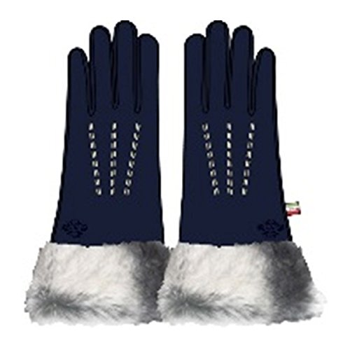オロビアンコ レディース 手袋 7.5 ORL-1584-NV ネイビー [並行輸入品]