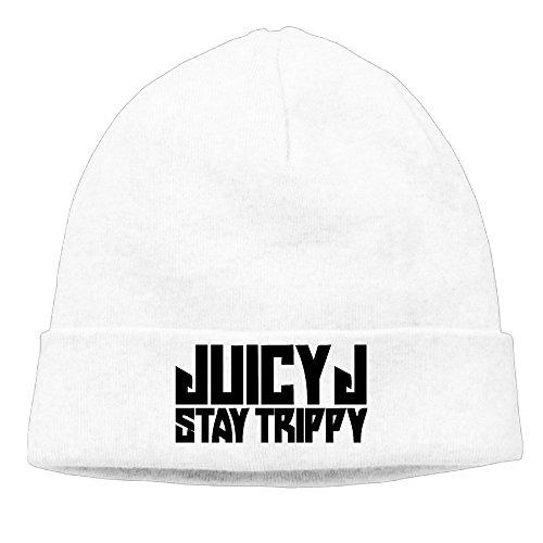 Juicy J Stay Trippy Jordan Michael Houston 100% Cotton Beanie Hat Caps - Scarf Juicy