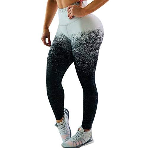 - Emimarol Women Leggings Summer High Waist Pants Casual Print Yoga Pants Ladies Comfy Running Leggings White