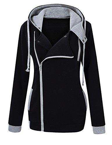 Leadingstar Womens Sleeve Sweater Inclined