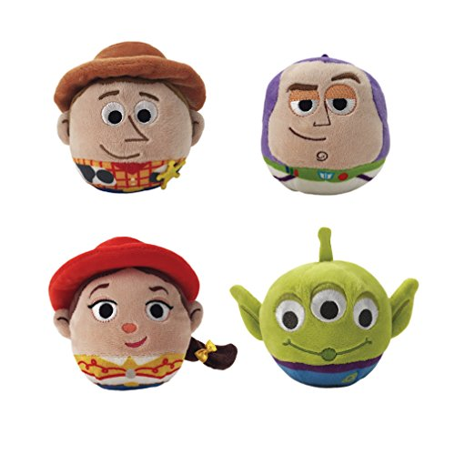 Make A Little Bo Peep Costume (Toy Story Fluffball Ornament 4 Pack - Woody, Buzz Lightyear, Jessie and the Alien)