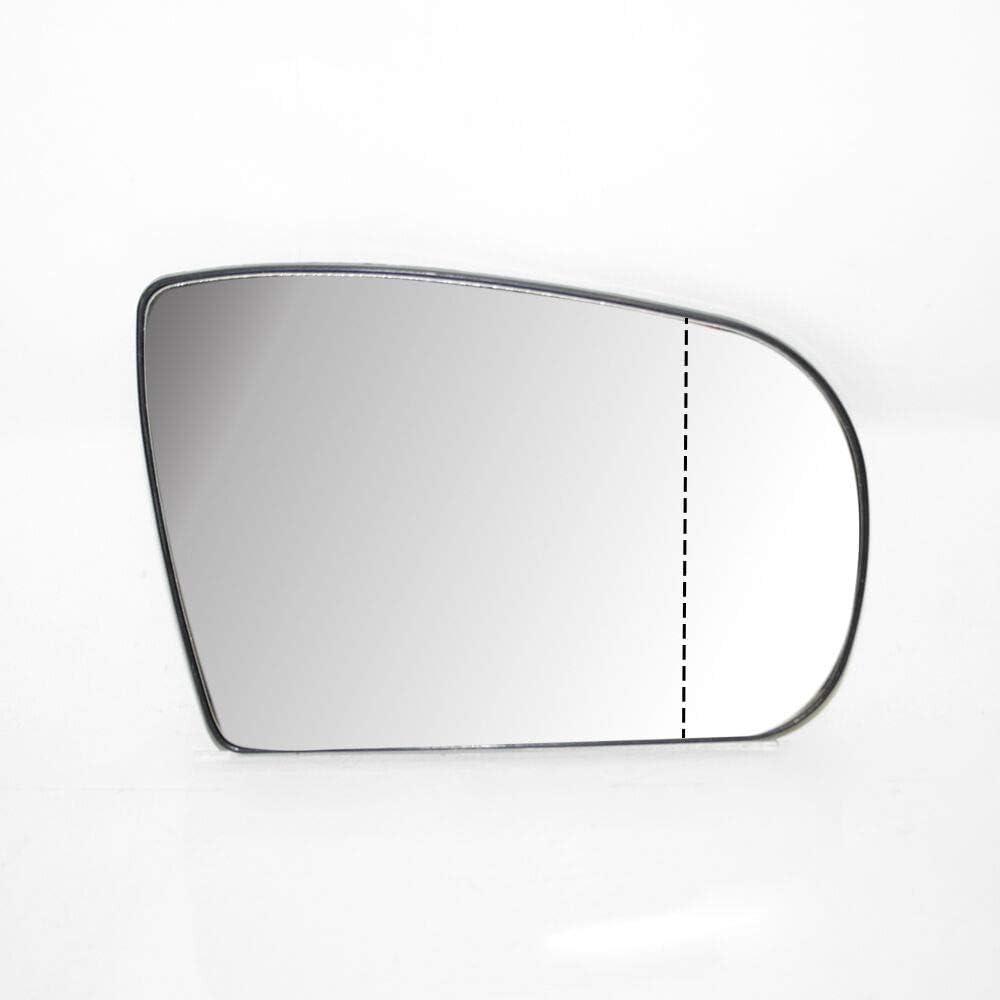Seitenspiegel Au/ßenspiegel Beheizbar Weit Winkel Glas Spiegelglas Rechts Beifahrerseite f/ür ML W163 2002-2005