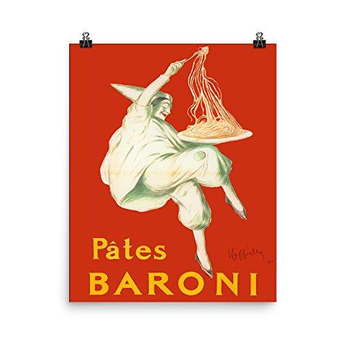 pates baroni spaghetti poster - 5