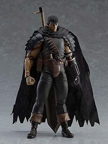 KaiWenLi Berserk/Guts/Joint Movable Anime Character Character Model PVC Material Graphic Statue Collectibles/Decorations/Adult Toys/New Year Christmas Gifts