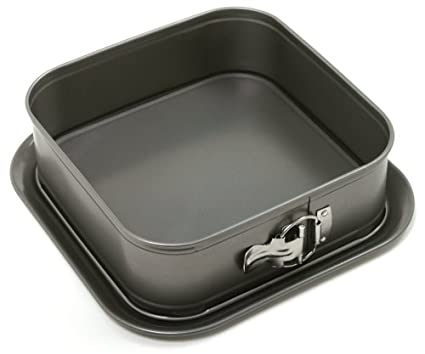 Norpro 9-Inch by 9-Inch Nonstick Square Springform Pan 3938