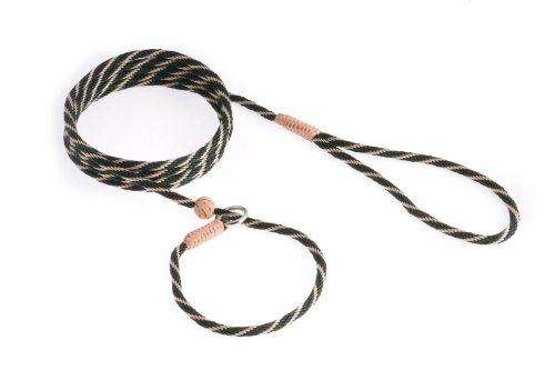 Alvalley Nylon Slip Lead with Stop for Dogs 4mm X 6ft, My Pet Supplies