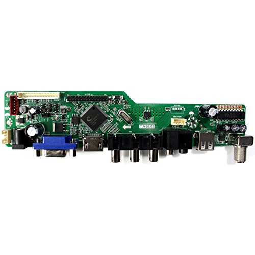 VSDISPLAY HDMI+VGA+CVBS+USB+RF+Audio LCD Motor Driver Board Controller Kit Work For 15.6'' LP156WH1 N156B3 1366x768 1CCFL 30Pin LCD Panel by VSDISPLAY (Image #2)