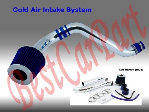 - 94 95 96 97 98 99 00 01 02 Honda Accord 4 CYL Cold Air Intake Blue (Included Air Filter) #Cai-hd004b