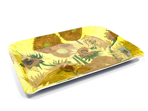(Gdabs Van Gogh Serving tray Sunflowers)