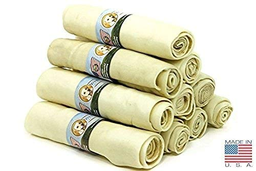 (10 Pack) of Wholesome Hide Super Thick Retriever Rolls 10 Inch