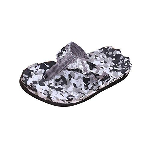 Chanclas Sandalias Zapatillas, FAMILIZO Zapatos Los Hombres De Verano Flip Flops Camuflaje Zapatos Sandalias Zapatillas Masculinas Flip-Flop Negro
