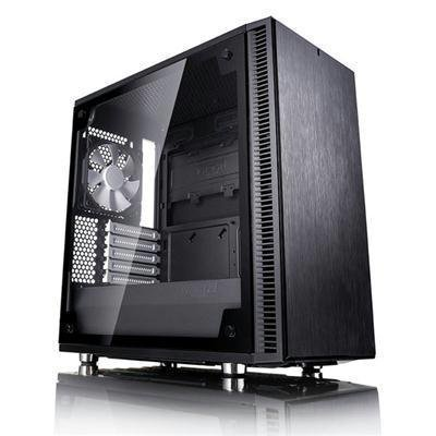 Fractal Design MicroATX Case Cases FD-CA-DEF-MINI-C-BK-TG by Fractal Design