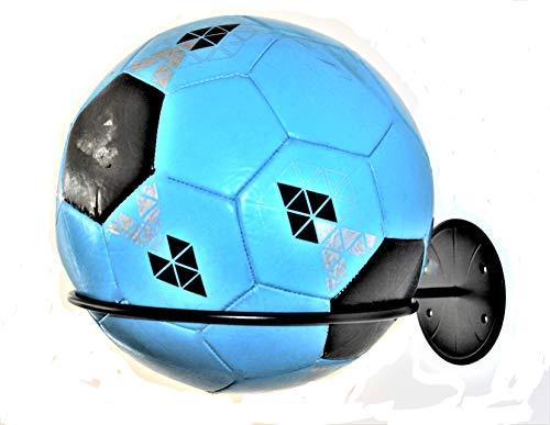 Place-Art. Sports Ball Holder & Organizer - New Heavy Duty, Wall Mount Ball Holder Rack Storage. Garage Organizer