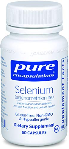 Pure Encapsulations - Selenium (Selenomethionine) - Hypoallergenic Antioxidant Supplement for Immune System Support* - 60 Capsules -