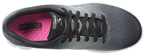 Skechers Go Walk 3 - Pulse - Zapatillas de deporte para mujer BKW