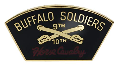 Buffalo Soldiers 9th 10th Calvary Hat or Lapel Pin HON14308h