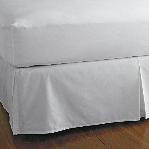 豪華なホテルコレクション600スレッドカウントエジプト綿100 %ベッドスカート18インチドロップアイボリークイーンby Kotton Cultureソリッド(分割コーナーベッドスカート) Full (15 Inch Drop) ホワイト 1NFBATOMFNSCBDSO156TCAWhiteF B078BT6LQZ ホワイト Full (15 Inch Drop)