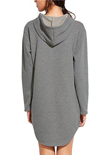 Sudadera con capucha de manga larga Yacun mujeres