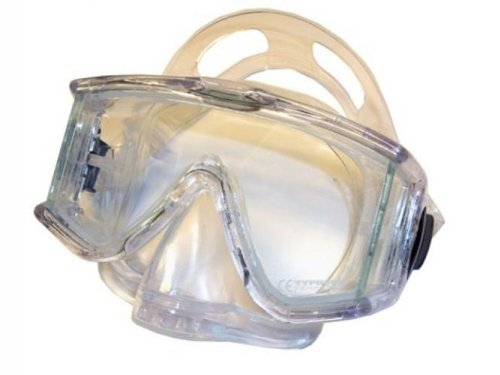 - Typhoon Panoramic Mask with Purge Valve Great for Scuba Diving, Clear