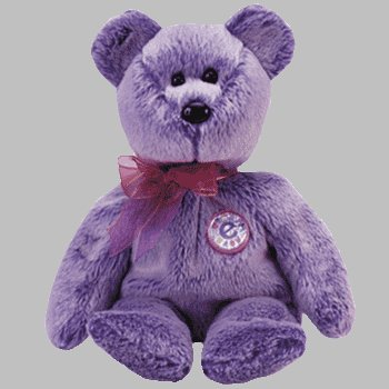 0ec9c7e3967 Amazon.com  Ty Beanie Babies - Periwinkle the Bear  Toys   Games