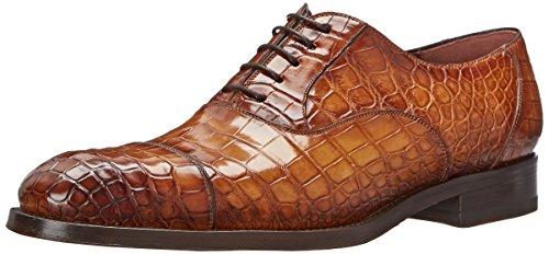 Alligator Mens Shoes - Magnanni Men's Havi Oxford, Cuero, 10 M US