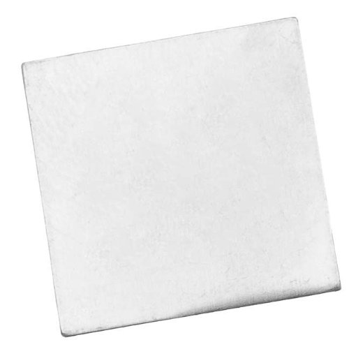 Beadaholique Sterling Silver Blank Stamping No Hole Square 21mm (1)