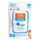 Munchkin Arm & Hammer Pacifier Wipes, 1 Pack, 36
