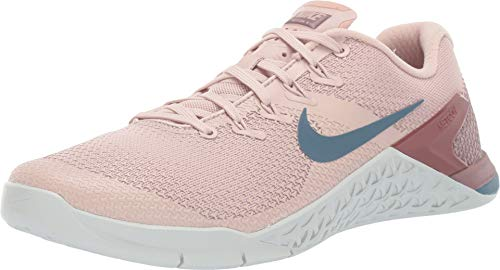 Nike Metcon 4 Womens Running Shoes (6.5, Particle Beige/Celestial Teal) (Nike Cross Trainers Women Pink)