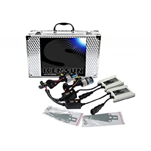 """55W Kensun HID Xenon Conversion Kit """"All Bulb Sizes and Colors"""" with Digital Ballasts - 9005 (HB3) - 6000k"""