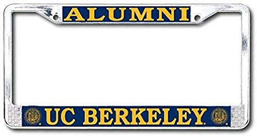 license plate frame cal alumni - 4