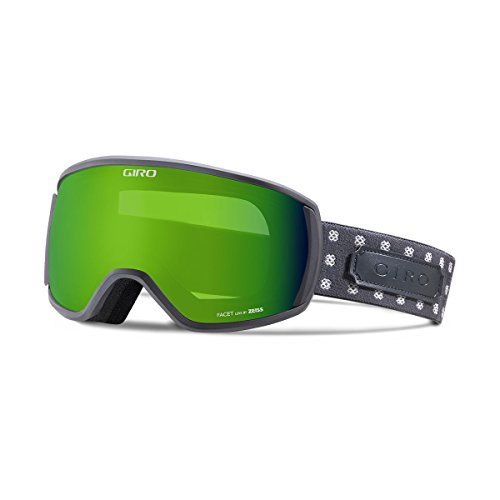 Giro FACET Schneebrille 2017 titanium cross stitch/loden green
